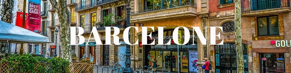 Architecture batiments Barcelone Espagne