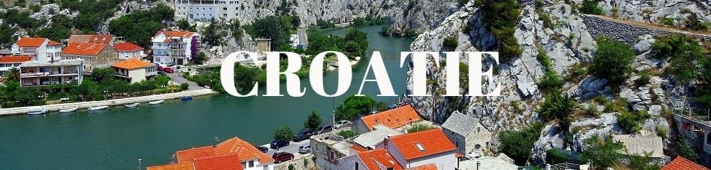 Maisons bord mer Croatie