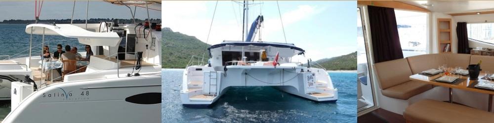 Vacances en Corse & Sardaigne Catamaran