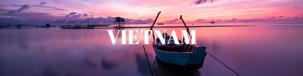 Lac coucher soleil Vietnam