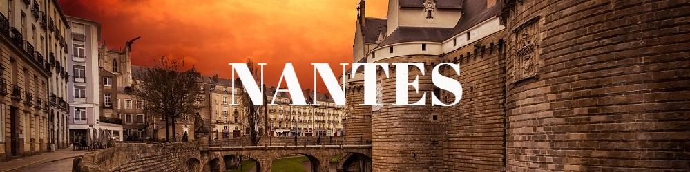 Nantes Chateau Coucher Soleil