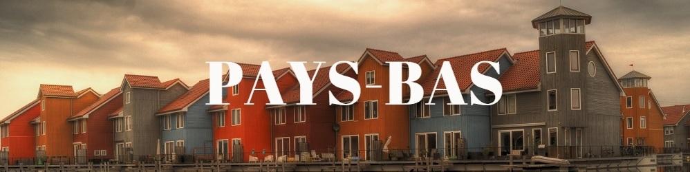 Maisons typiques néerlandaise coucher de soleil