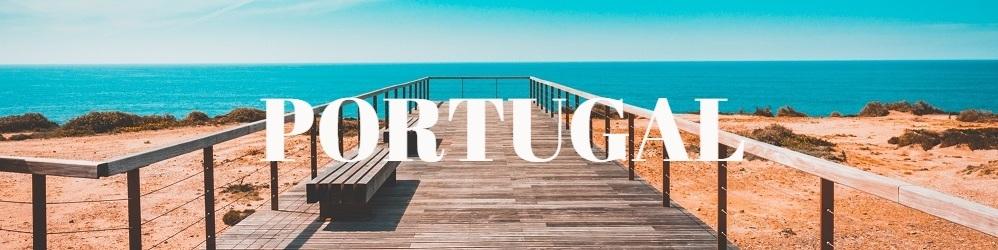 Jetée face mer Portugal
